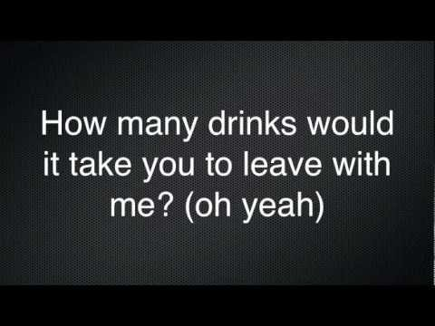 Miguel - How Many Drinks? (Lyrics)