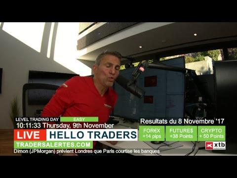 Emission Hello Traders du 9 Novembre 17