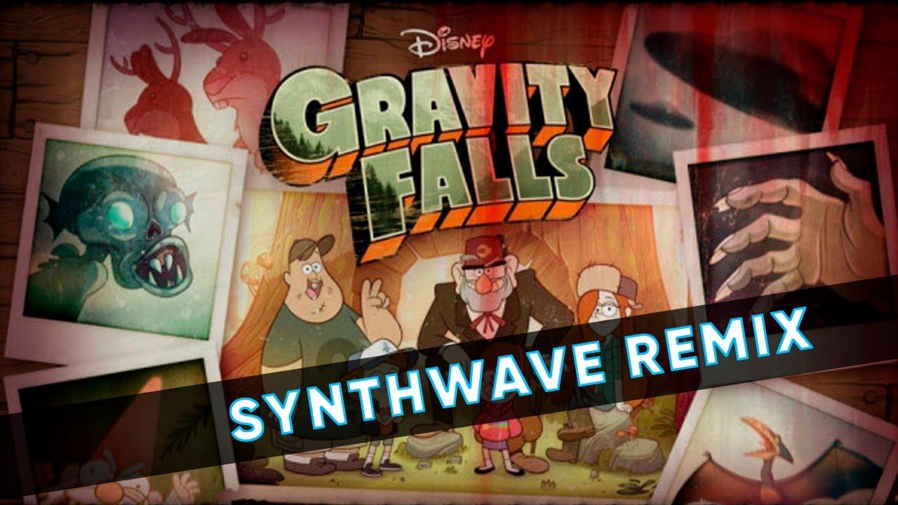GRAVITY FALLS but it's a SYNTHWAVE (BeatBoyNinja Remix)