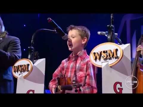 """Carson Peters and Ricky Skaggs - """"Blue Moon of Kentucky"""" ( Live at the Grand Ole Opry )"""