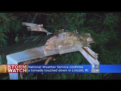 Tornado Hits Lincoln, RI