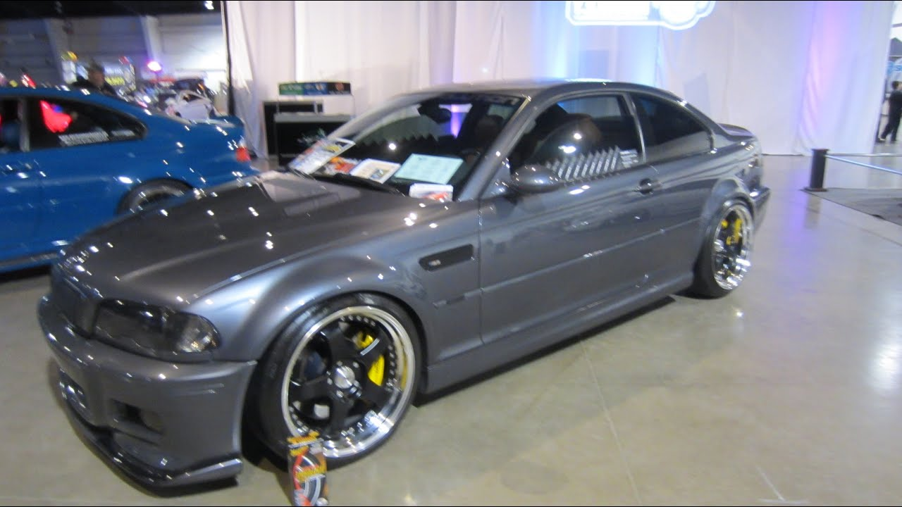 custom BMW M3 e46