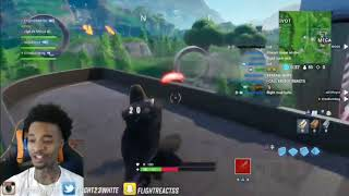 FlightReacts RAGE QUITS After He Gets Kill by a Pickaxe on Fortnite Battle Royale😂
