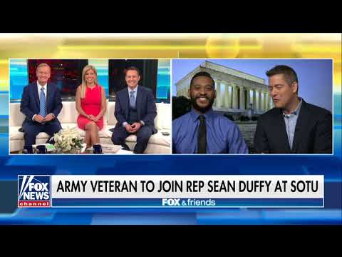 'Deplorable Vet' Who Blasted Maxine Waters Will Attend SOTU With Rep. Duffy