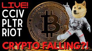 [LIVE] MARKET CLOSE: CRYPTO FALLING?! (Bitcoin & Doge)    STOCK ANALYSIS: AMC PUSHING!!!