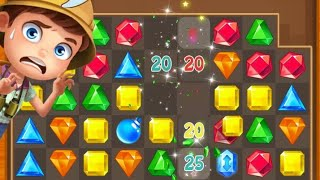 Jewels Classic Games/LEVEL 1 to 10/jewels gameplay 2020 for free be continue next part World´s Gamin screenshot 4