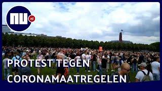 Politie Grijpt In Bij Demonstratie Tegen Coronamaatregelen In Den Haag   Nu.nl