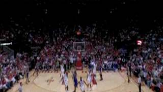 Kobe bryant long 3 pointer at the buzzer- game 3 2009 playoffs vs. rockets