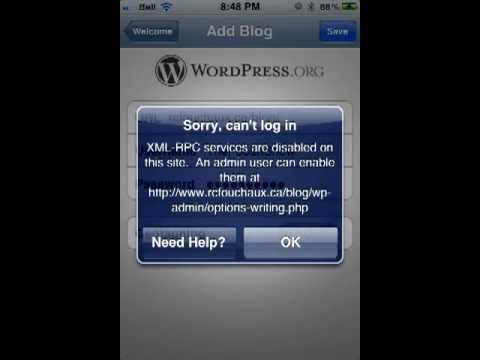 Enable XML-RPC in WordPress