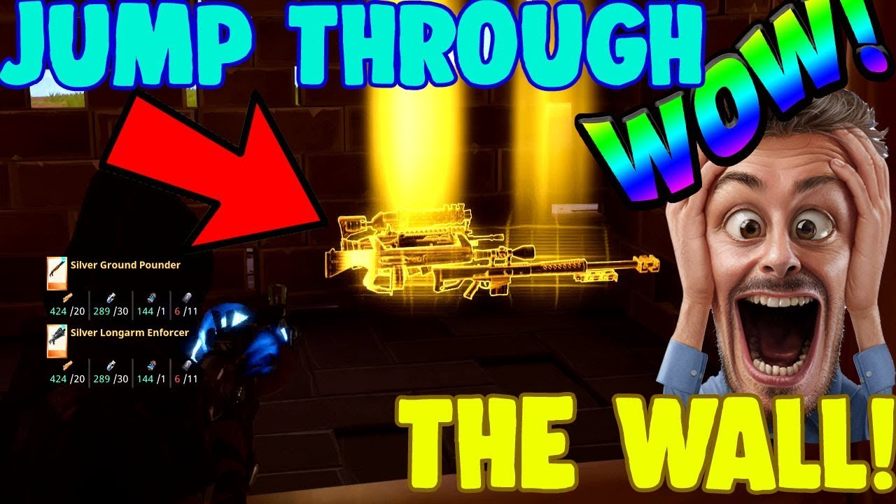 *NEW SCAM* JUMP THROUGH WALLS, Scammer Gets Scammed (Fortnite Save The World)