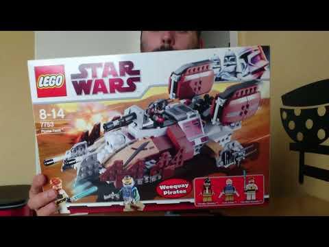 Heti videó - 14# Lego Star Wars - Pirate Tank