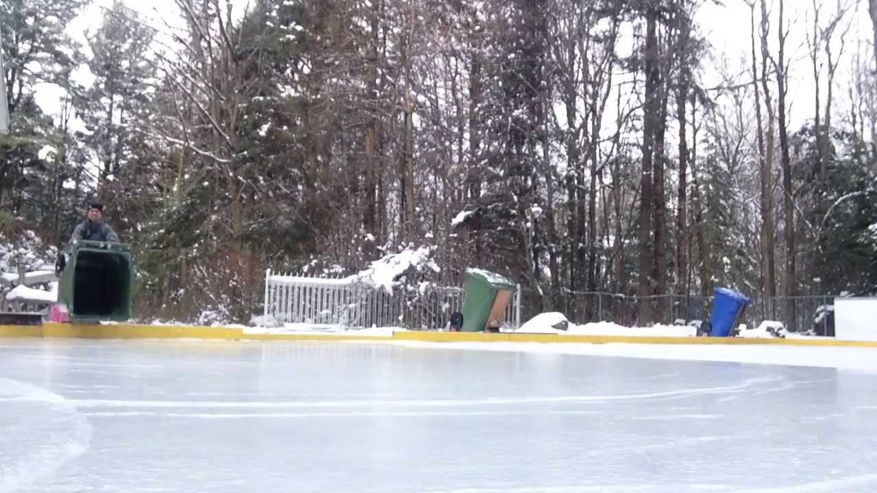 how to water your rink in 30 seconds the
