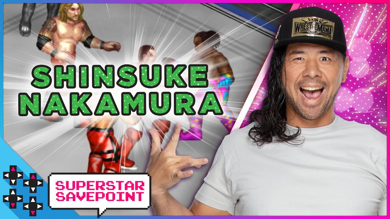 SHINSUKE NAKAMURA and AUSTIN CREED tag up together in FIRE PRO WRESTLING! - Superstar Savepoint