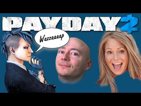 A Chat with Sydney from Payday 2 (Georgia van Cuylenburg)