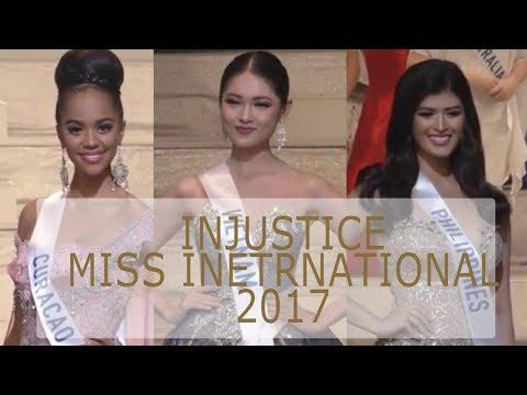 [INJUSTICE] MISS INTERNATIONAL 2017