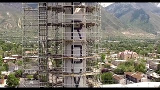 Provo City Power Smokestacks // Abatement Process and Demolition