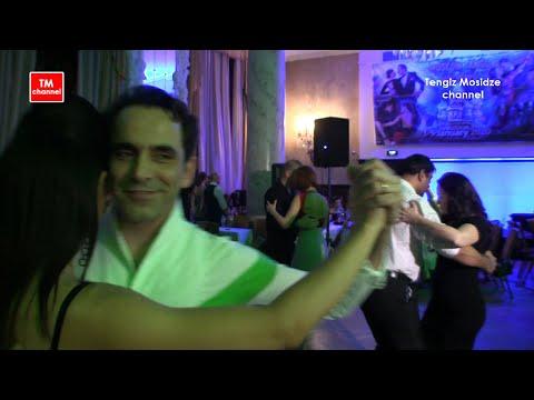 "Tango ""Que Falta Que Me Haces"". Ezequiel Paludi With Irina Ponomareva On Nightly Milonga In Moscow."