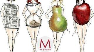 Одежда по типу фигуры. Маха Одетая.