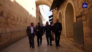 وفد إعلامي أردني يزور مدينة القدس والمقدسات الإسلامية والمسيحية