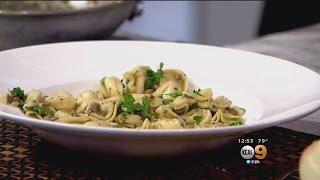 Tony's Table: Tortellini And Mushrooms