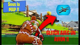 GLITCH ALLER SOUS LA MAP DE FORTNITE AVEC UN AVION !!