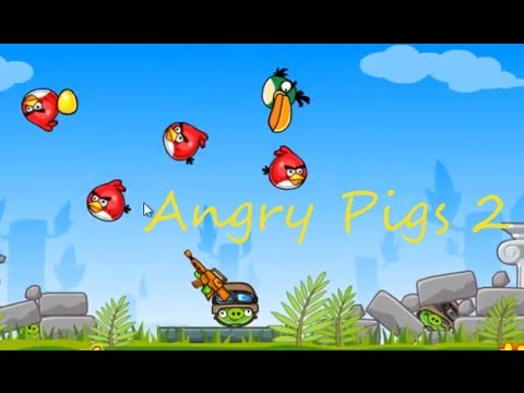 angry pigs game