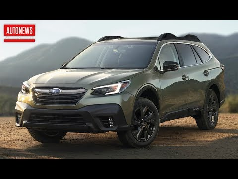 Новый Subaru Outback (2020): турбомотор и огромный экран