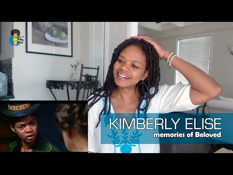 Kimberly Elise  Memories of BELOVED 2017 Skype