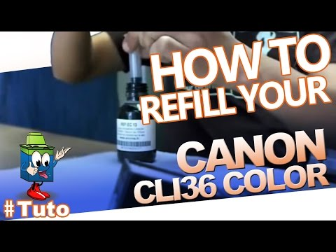 How to Change Ink Cartridges in a Canon Pixma IP100 | Doovi