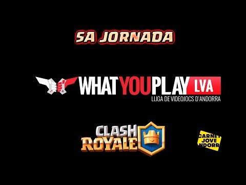 [LIVE]: ¡¡¡5A JORNADA DE LA LIGA ESPORTS DE ANDORRA!!! ¡BY @WhatYouPlayLVA! Clash Royale - [ALGAME]