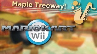 """Maple Treeway (From """"Mario Kart Wii"""") Soprano Saxophone Game Cover"""