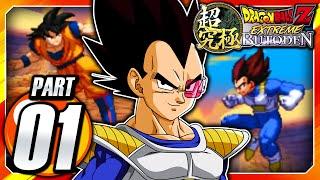 Dragon Ball Z: Extreme Butoden 3DS English: Part 1 - Dragon Team - Saiyan Saga