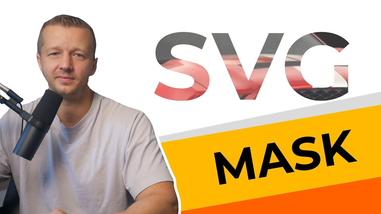 Awesome SVG Text Masking with Video - Tutorial