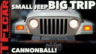 1000 Miles Straight AND Up The Ike Gauntlet - Are We Crazy?! Cheap Jeep Challenge Ep.3