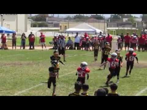 Carson Heath 26yd run vs Santa Barbara 2015