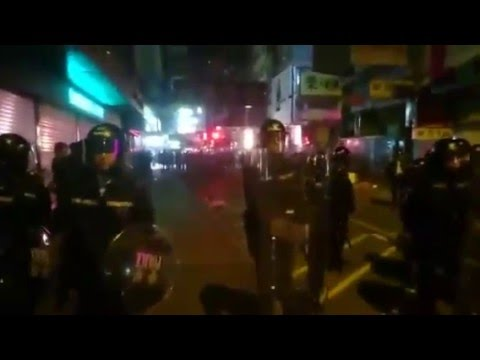 Hong Kong Protest live, riot, police