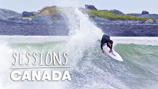 Andrew Mooney Hits The Road On Canada's East Coast In Search Of Perfect Hurricane Surf | Sessions