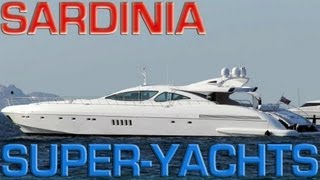 Super Yachts & Mega Yachts (Sardinia)