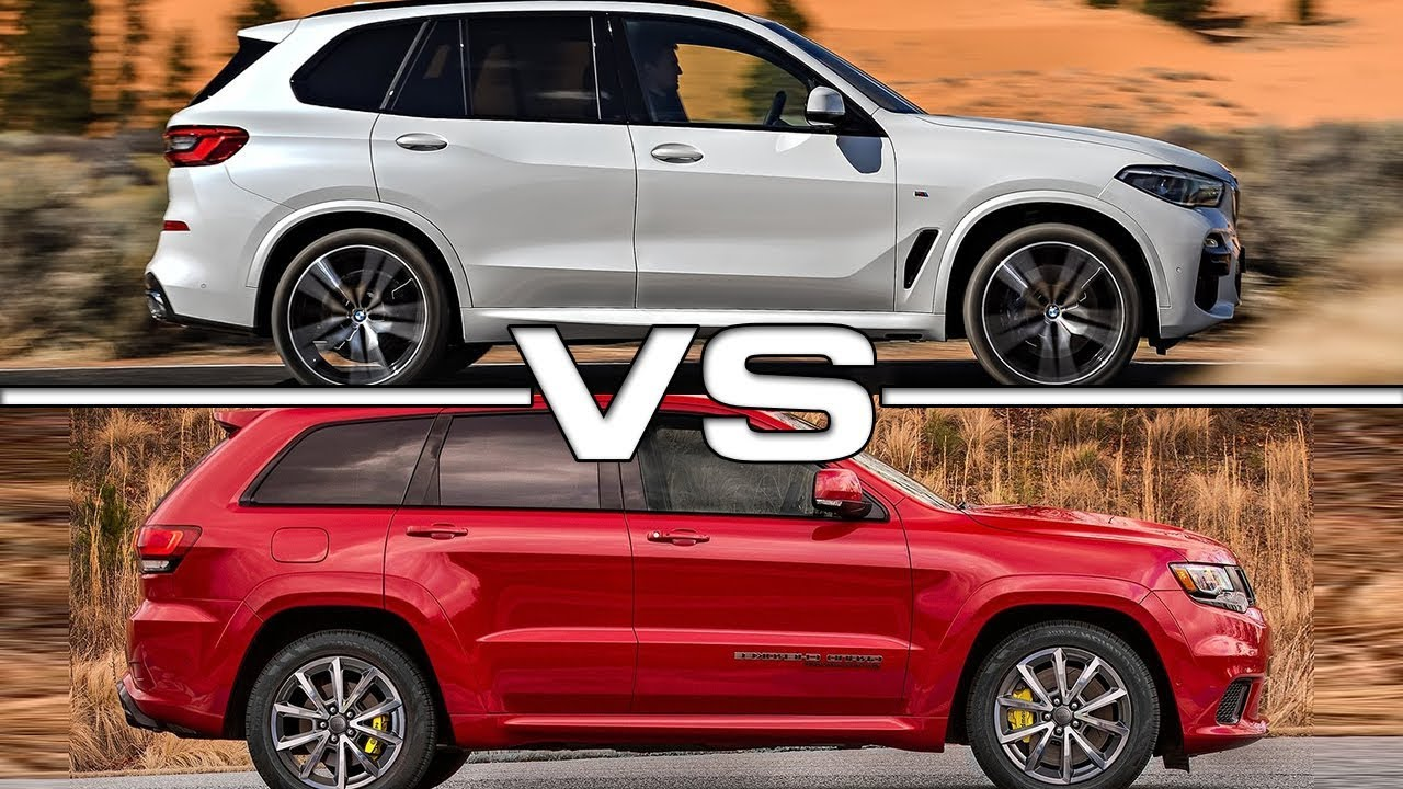 2019 Bmw X5 Vs 2018 Jeep Grand Cherokee Technical Specifications