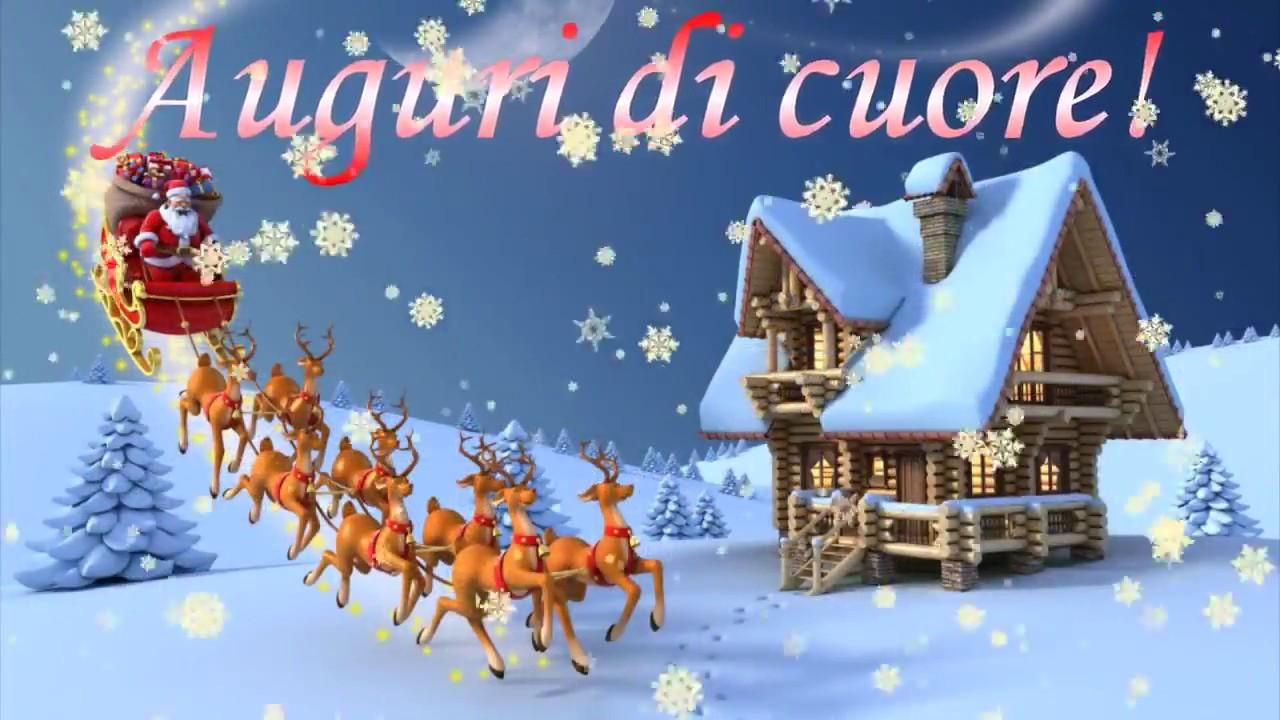 Youtube Frasi Auguri Di Natale.Auguri Di Cuore Natale