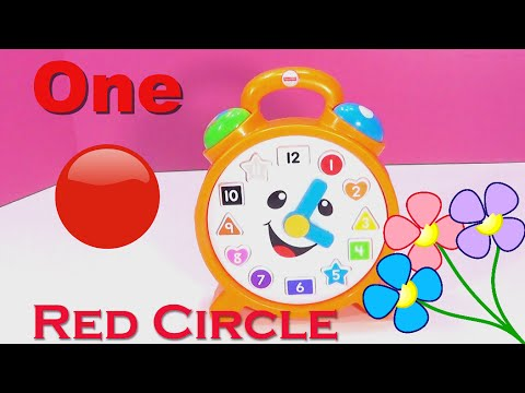 Laugh & Learn Clock Reveals SURPRISE Play-Doh Eggs with Tsum Tsums Toys Inside!