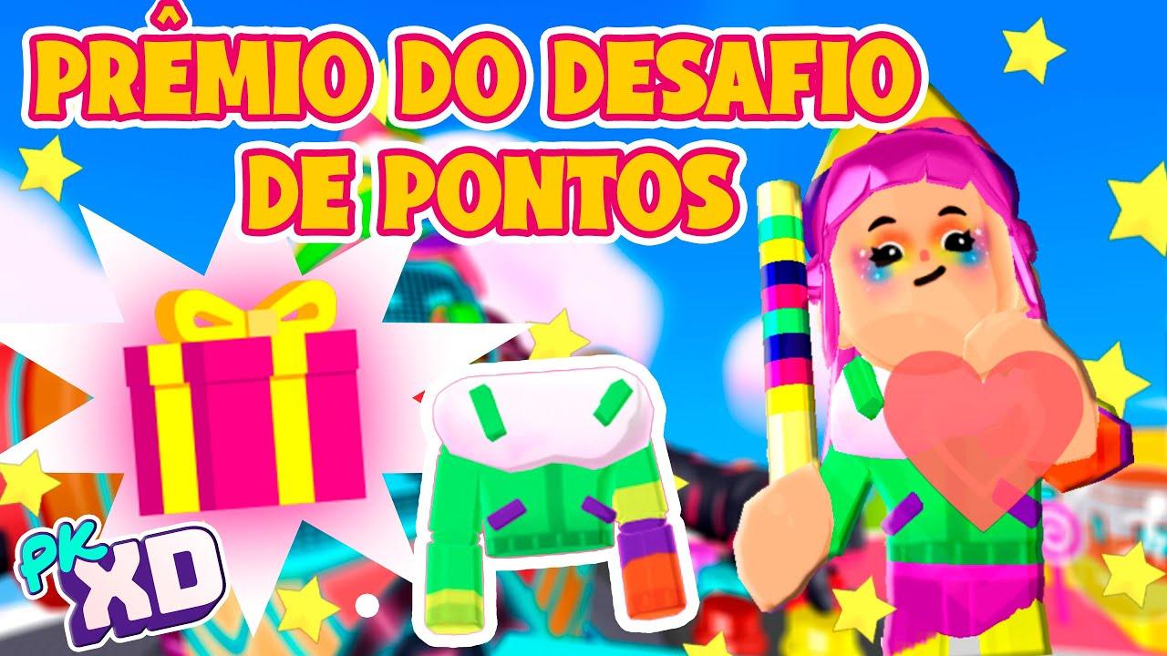 PRÊMIO DO DESAFIO DE PONTOS - CAÇA ÀS ESTRELAS 2º DIA - PK XD
