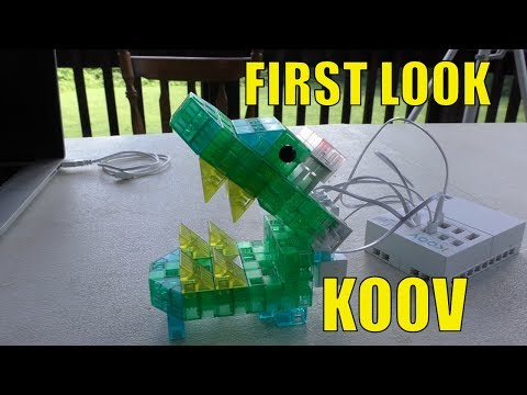 KOOV Robotics And Coding Kit From Sony - FULL REVIEW and Testing
