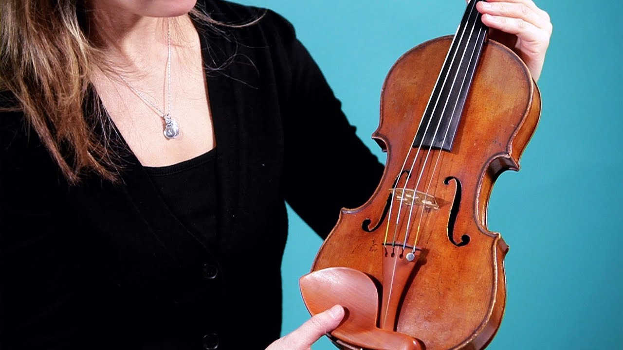 Parts of the Violin & Bow | Violin Lessons