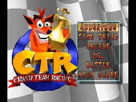psx longplay  416  crash team racing  part 1  2  youtube