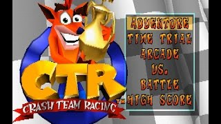 PSX Longplay [416] Crash Team Racing [Part 1/2]
