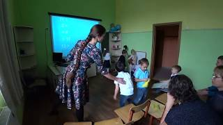Открытый урок -1 класс Школа Жохова Воронеж