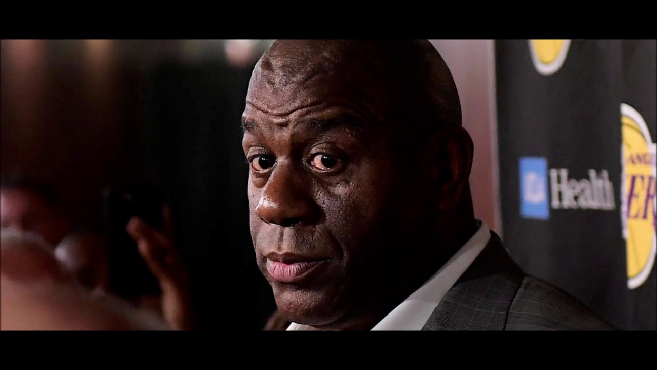 Magic Johnson Shuts Down Report Of Inappropriate Workplace Conduct As Reason For His Resignation