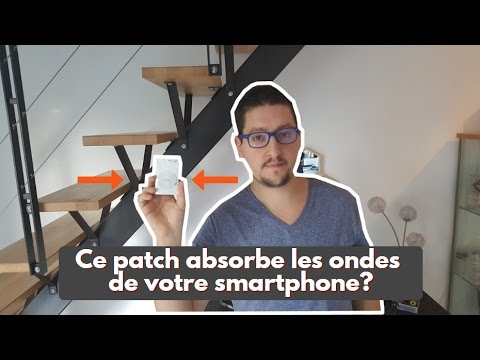 fazup ce patch absorbe les ondes de votre smartphone youtube. Black Bedroom Furniture Sets. Home Design Ideas