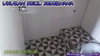 Desain kamar mandi kecil #sederhana